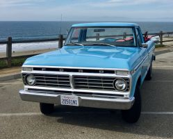 Classic 1974 Ford F100 Custom Restored Pickup Truck