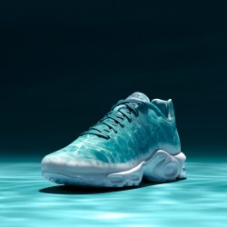 NikeLab Air Max Plus Fuse GPX LE REQUIN Turbo Green Shoes