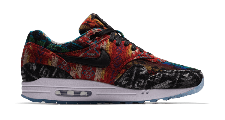 "Nike Air Max 1 Pendleton ""What The"" iD Sneakers"