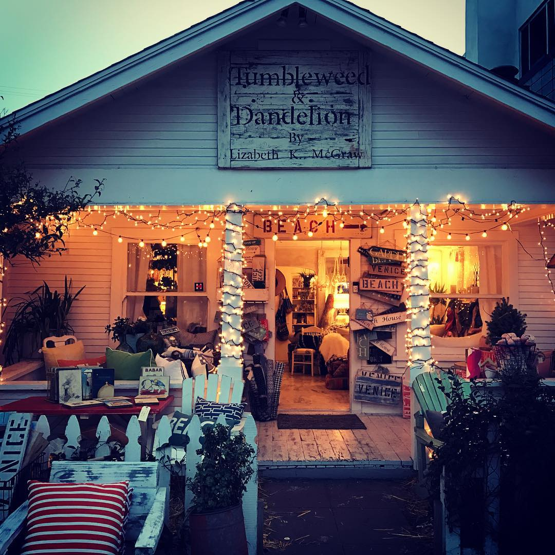 Beach House Decor At The Tumbleweed & Dandelion Store On
