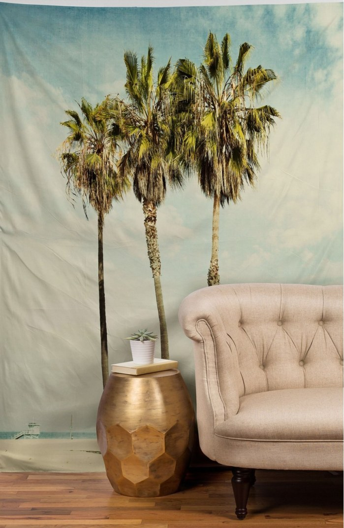 Venice Beach Palms Tapestry by Deny Designs
