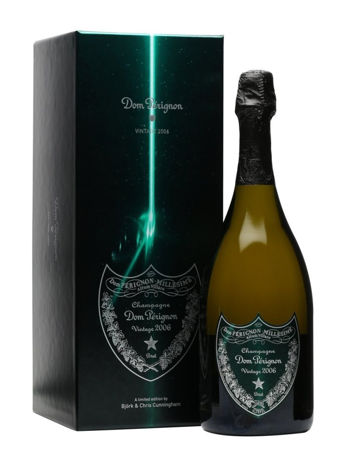"2006 Dom Perignon 750 mL ""Creator's Edition"" by Bjork & Chris Cunningham  ..."