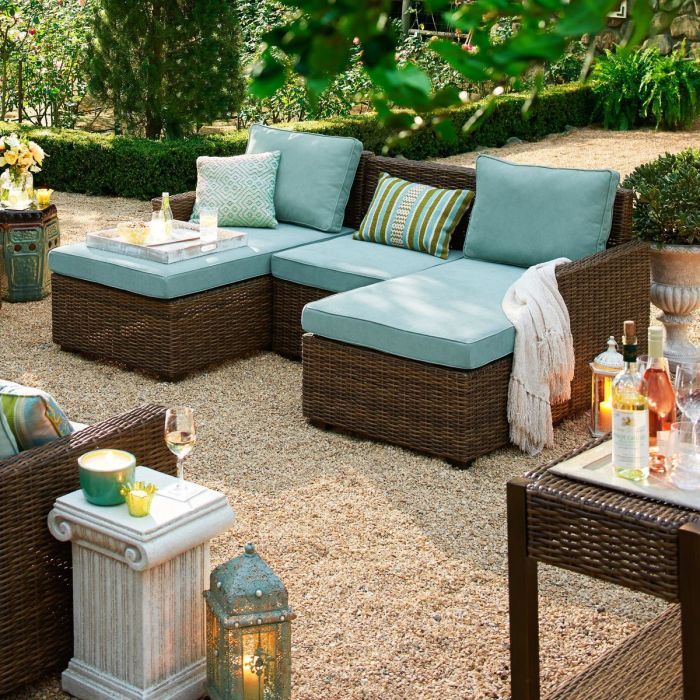 Echo Beach Build Your Own Sectional Outdoor Furniture Set