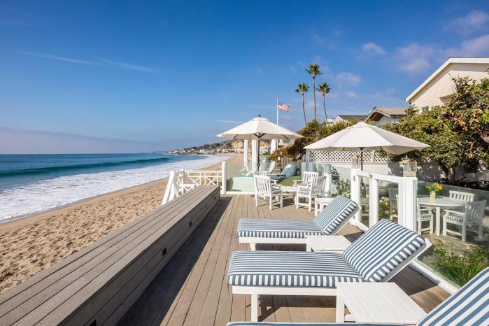Beautiful Malibu Colony Beach Home