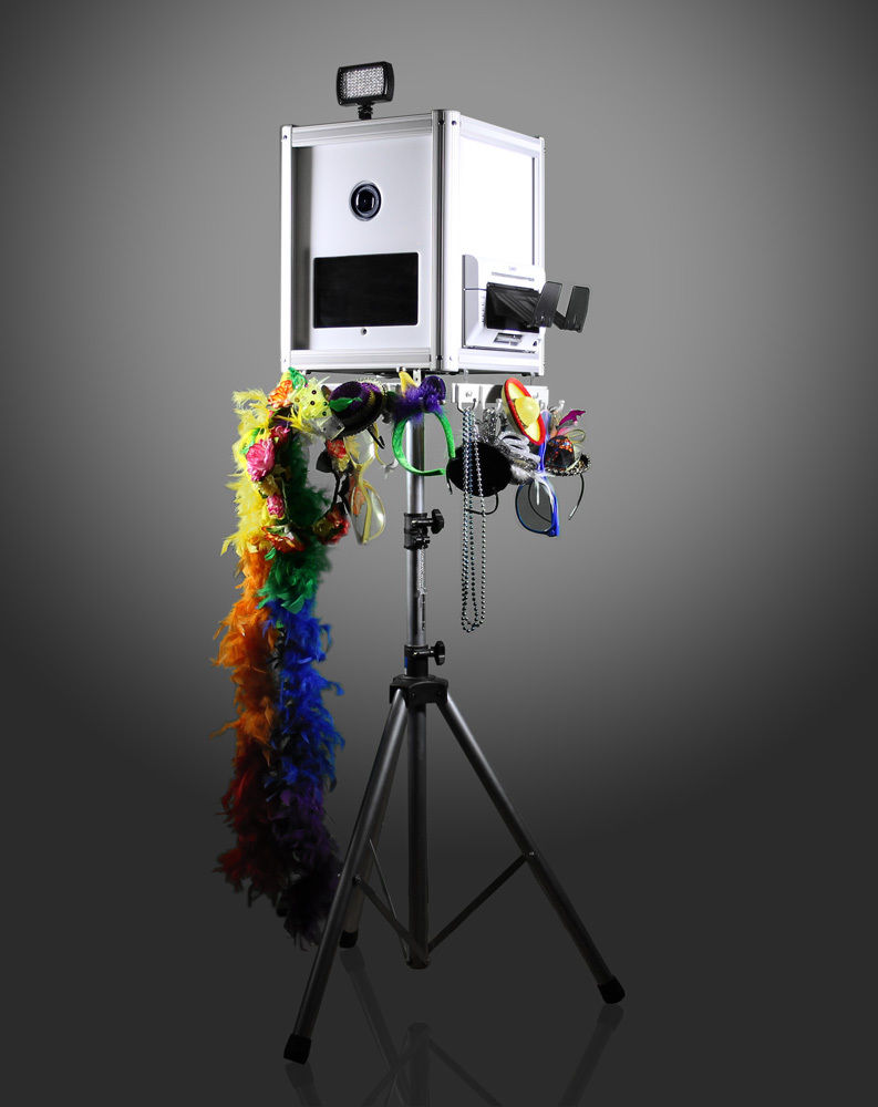 Open Air Photo Booth DSLR Portable Tablet Print Social Media Shell by Flairbooth