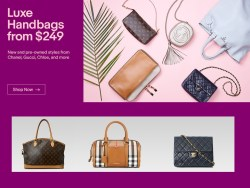 Luxury Handbags for Sale on Ebay