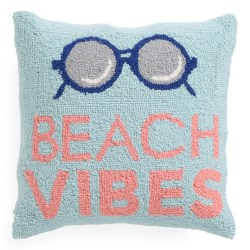 Beach Vibes 16×16 Throw Pillow