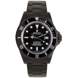 Rolex Limited Edition Matte Black Sea Dweller Mens Watch