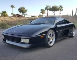 1990 Ferrari 348 TS Removable Targa Top Coupe 2-Door Sports Car