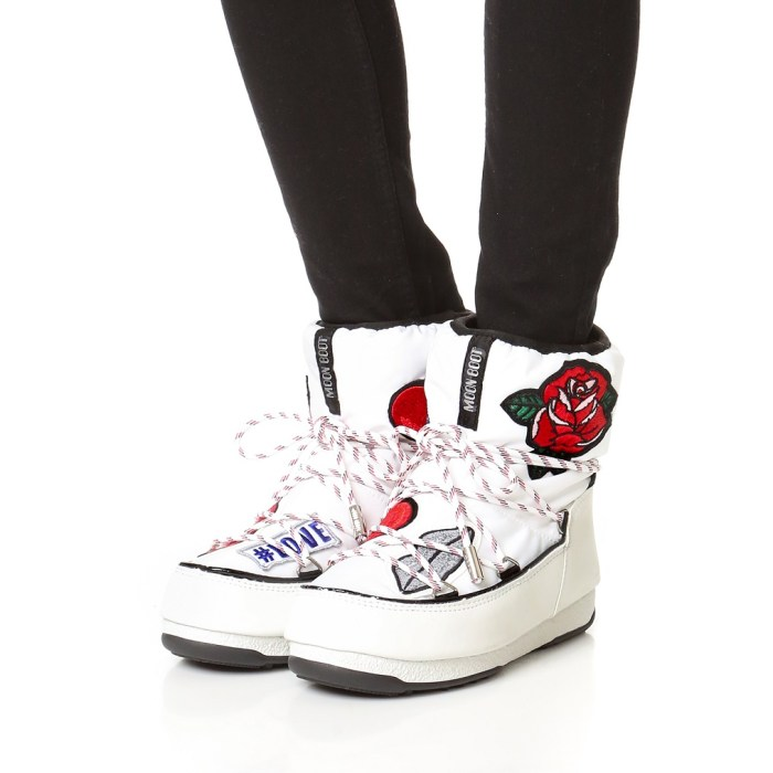 Moon Boots x MSGM with Playful Patches