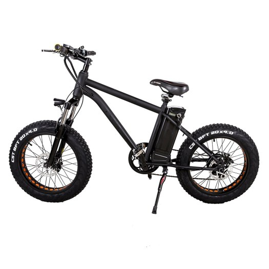 "New Fat Tire 20"" Electric Bicycle Portable 300W Smart Beach Snow All Terrain E-bike with 36V10AH Lithium Battery by Nakto"