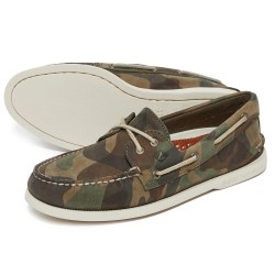 Sperry A/O 2-Eye Camo Mens Boat Shoes
