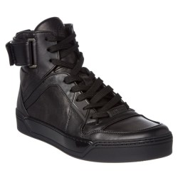 Gucci High Top Mens Leather Sneakers