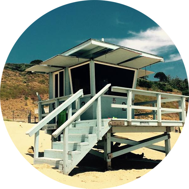 Malibu Surfrider Beach Lifeguard Tower