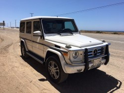 2014 Mercedes Benz G Wagon White G550 Luxury SUV