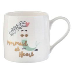 Mermaid at Heart Mug by Slant Collections