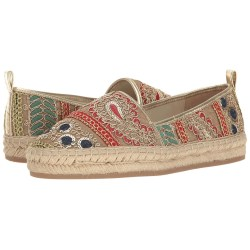 Alice + Olivia Bradley Sequin Fabric Espadrille Shoes