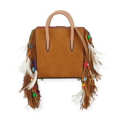 Christian Louboutin Paloma Nano Loubibird Leather Tote Bag
