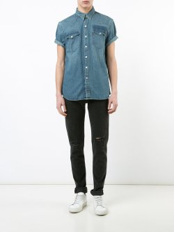 Levi's Shortsleeved Mens Denim Shirt