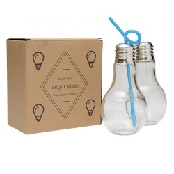Light Bulb Glass Jars