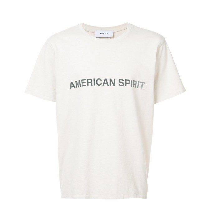 American Spirit T-shirt Made in the USA by Rhude