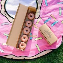 Happy National DONUT Day! Celebrate with Sidecar Doughnuts and Sprinkled Round Beach Towels