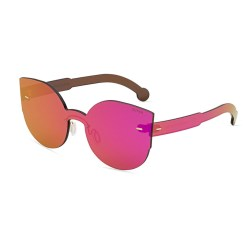 Super by Retrosuperfuture Pink Tuttolente Lucia Cat-Eye Sunglasses