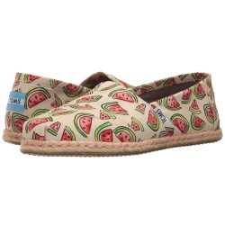 TOMS Seasonal Classics Watermelon Print Loafers