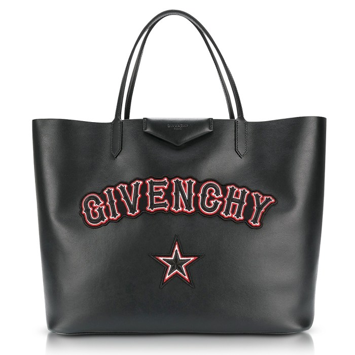 Givenchy Antigona Large Black Leather Tote Bag