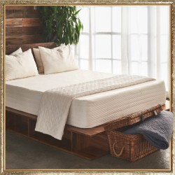 Brentwood Home Los Angeles Memory Foam Cypress Bamboo Gel 13 Bed