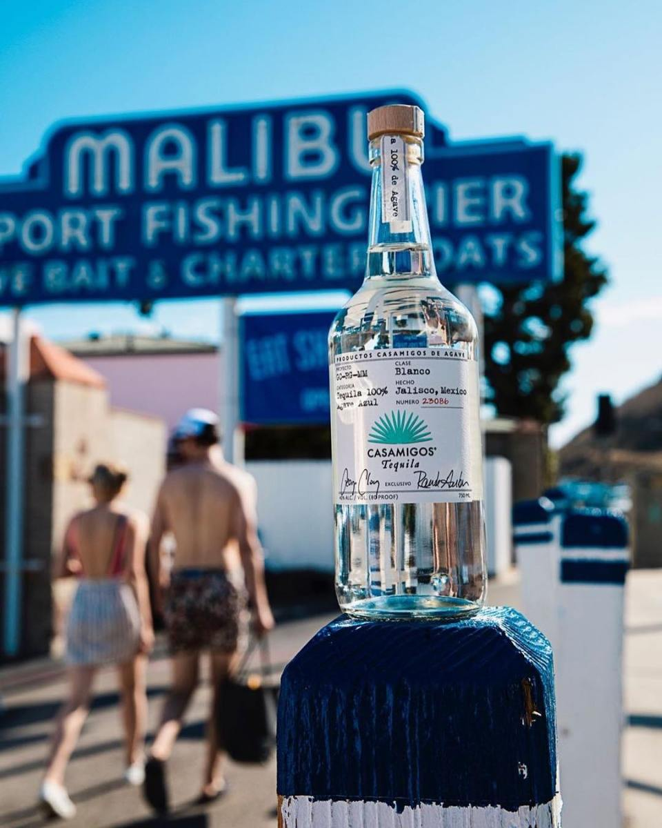Happy National Tequila Day! Casamigos Tequila at the Malibu Pier