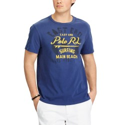 Polo Ralph Lauren East End Surfing Slim Fit Cotton Mens T-Shirt