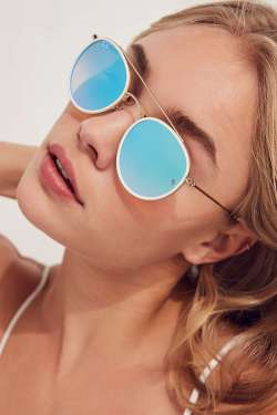 Ray-Ban Icon Round Bridge Womens Sunglasses