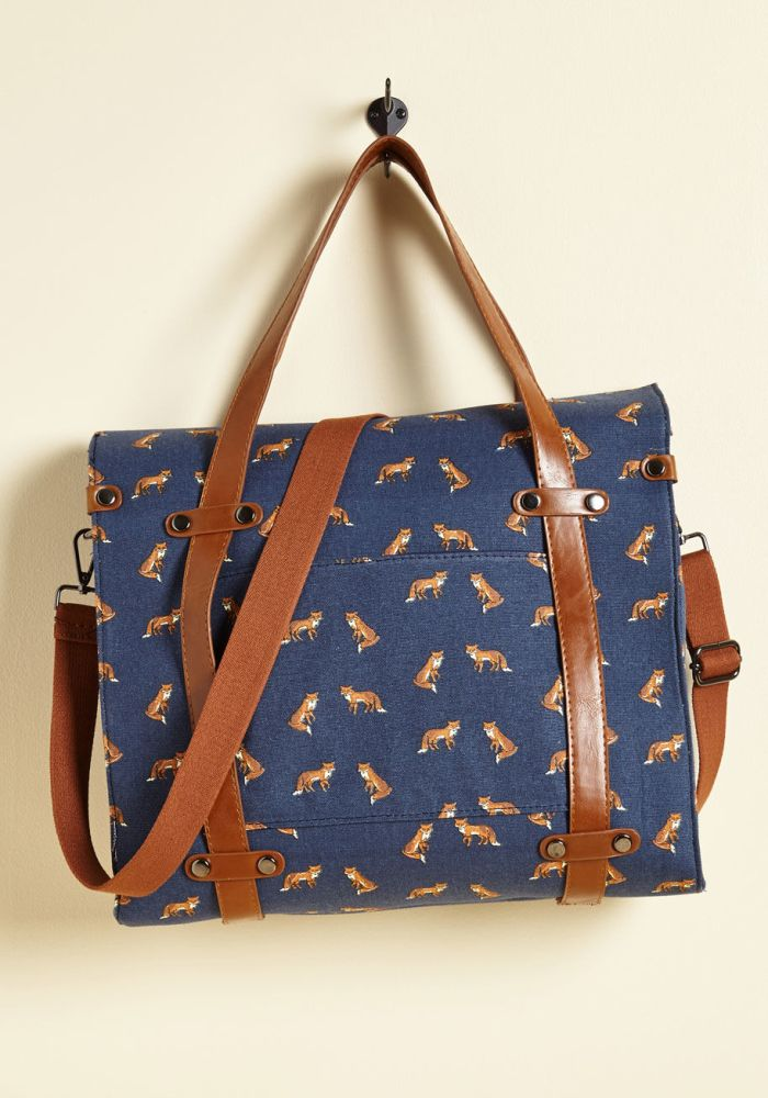 Camp Director Foxes Tote Bag