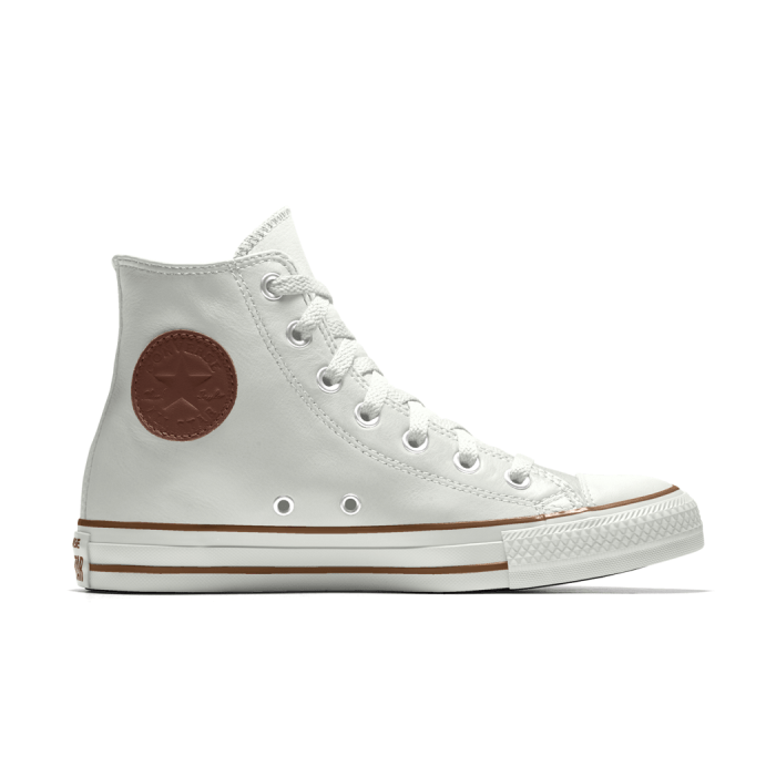 Converse Chuck Taylor Custom Leather High Top Sneakers