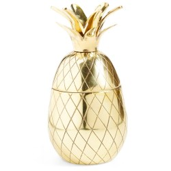 Gold Pineapple Tumbler by W&P DESIGN