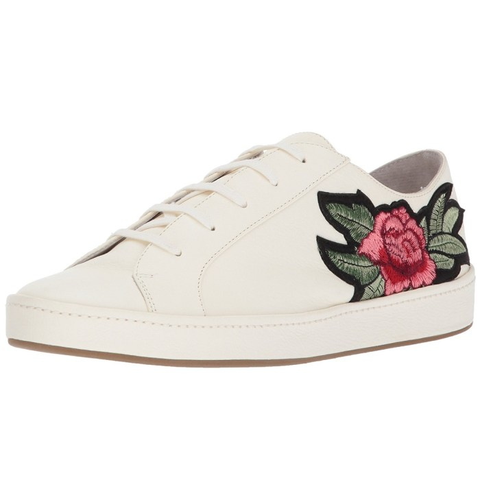 Joie Daryl Embroidered Rose Womens Shoes