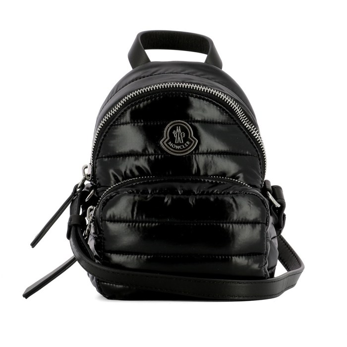 Moncler Women's Black Fabric Backpack