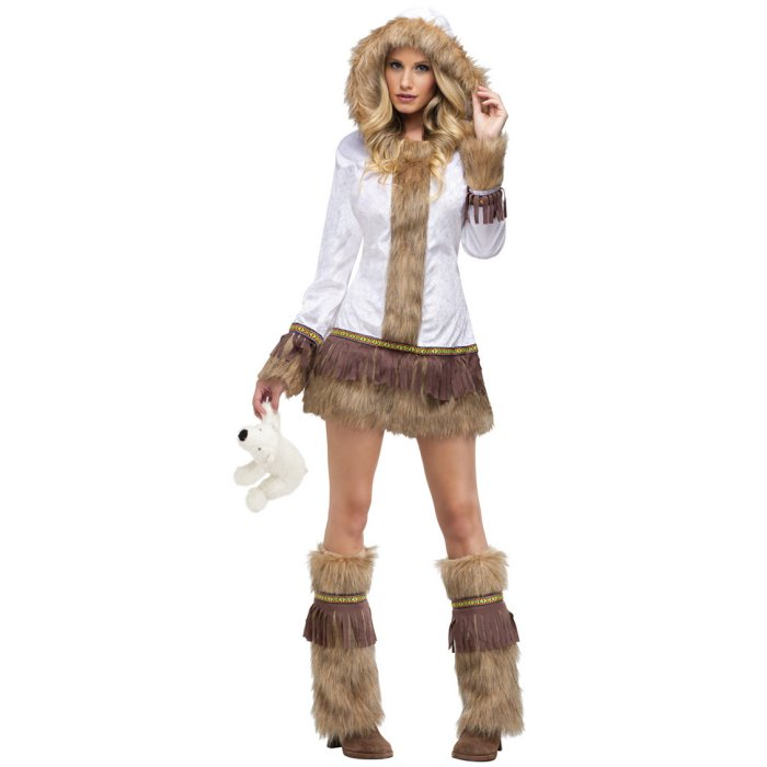 Eskimo Babe Womens Halloween Costume