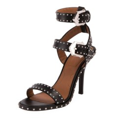 Givenchy Elegant Studded High 100mm Sandal Shoes