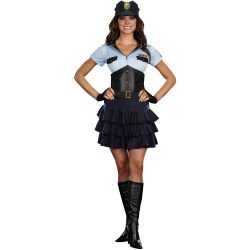 Police Officer Women's Adult Halloween Costume