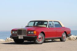 1986 Rolls Royce Silver Spur Claret Red 26k Original Miles California Car