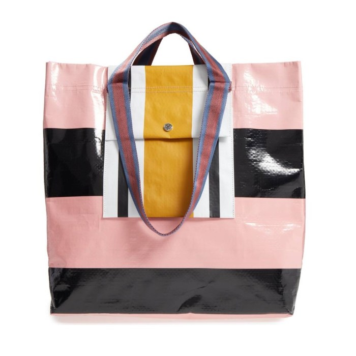 Stripe Shopper Bag by ACNE STUDIOS