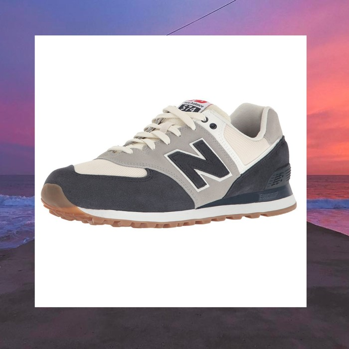 New Balance Men's 574 Resort Sport Lifestyle Fashion Sneakers