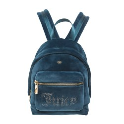 Juicy Couture Ultra Luxe Velour Bel Air Bijoux Mini Backpack