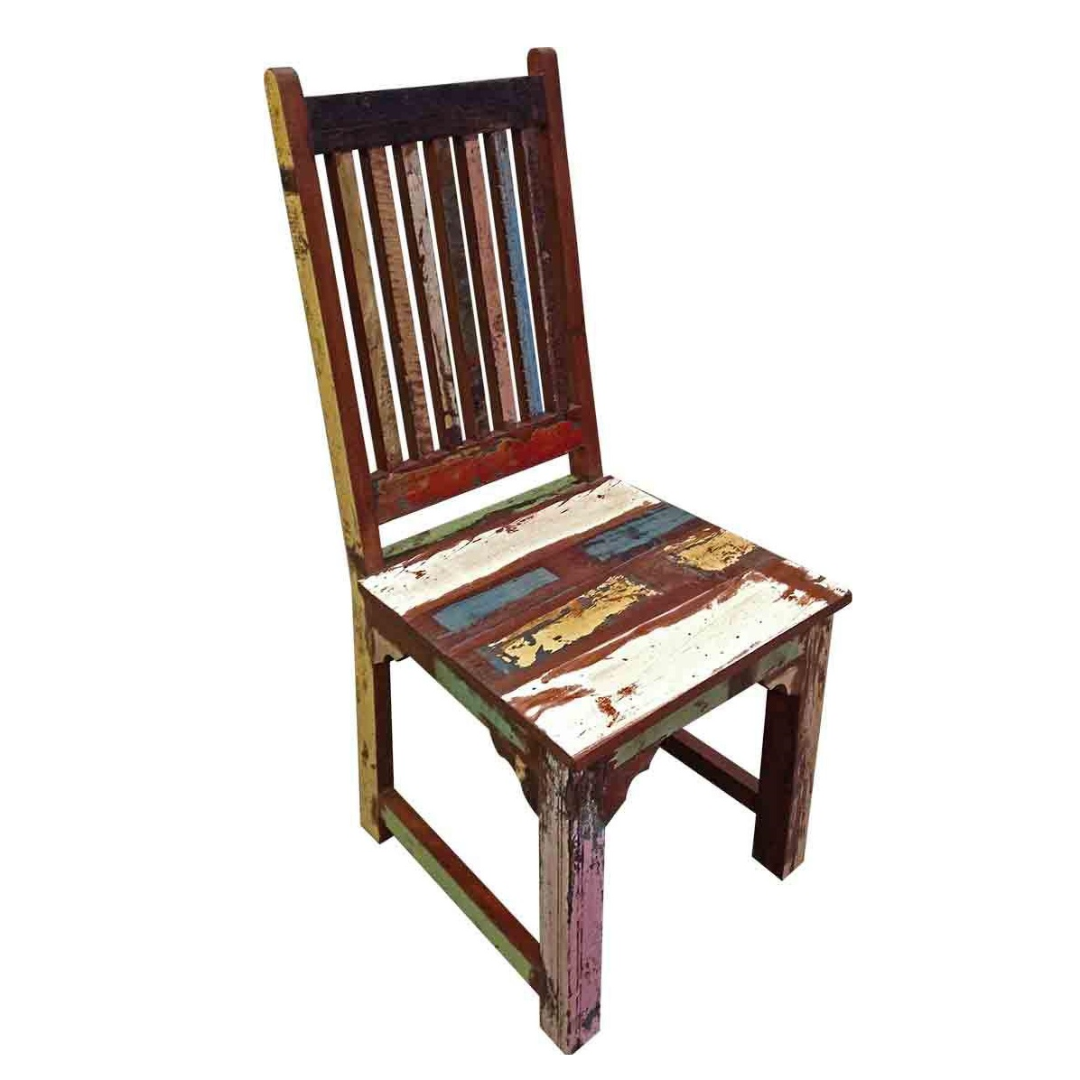 distressed adirondack chairs wooden brix multicolored dining chair malibu mart