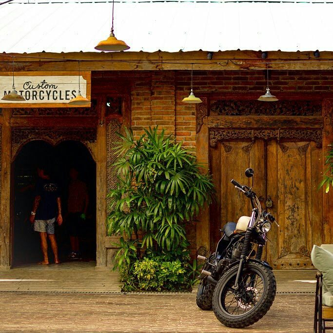 Deus Ex Machina Temple Of Enthusiasm Store in Canggu Bali Indonesia