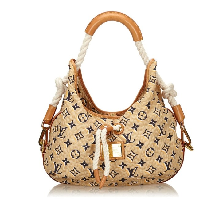 Louis Vuitton Monogram Bulles Mm Pre-Owned Shoulder Bag