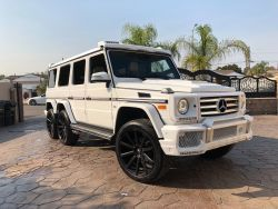 2015 Mercedes Benz G550 6 Wheels G-Class Luxury SUV