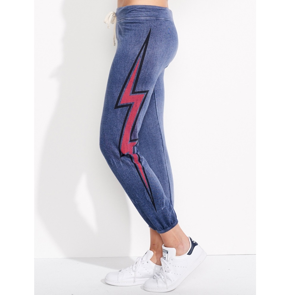 SUNDRY Lightening Bolt Sweatpants